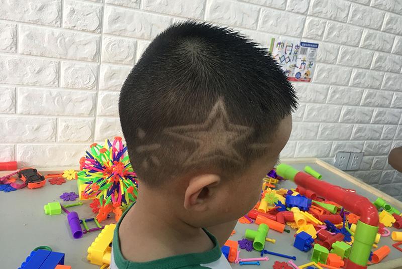 儿童雕刻发型之海鸥